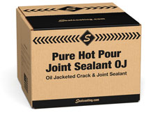 Pure Hot Pour Hot Rubber Asphalt Joint Sealer Box