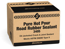 Pure Hot Pour Road Rubber Crack Sealer Type II 3405 Box