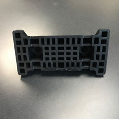 bottom view rooftop rubber support