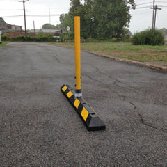 Rubber Curb Lane Delineator System