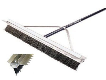 "Double Play Ballfield Broom - 28""-Secialty Rakes-Seymour Midwest-Default-Sealcoating.com"