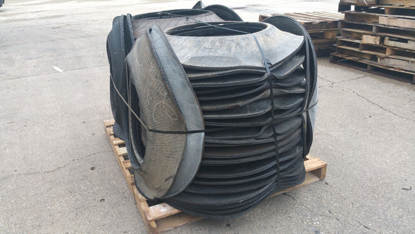 Full Pallet of Tire Bases - Lane Changer Traffic Drum