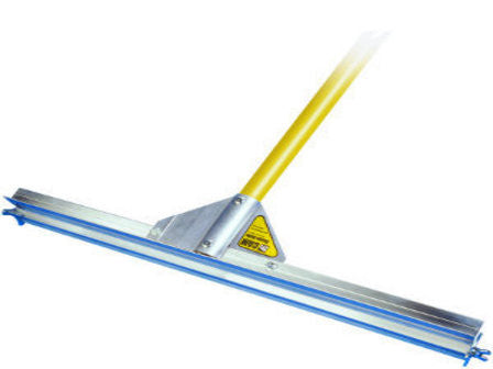 "36"" Gauge Rake Frame, 66"" Yellow Powder-Coated Aluminum Handle-Aluminum Rakes-Seymour Midwest-Default-Sealcoating.com"