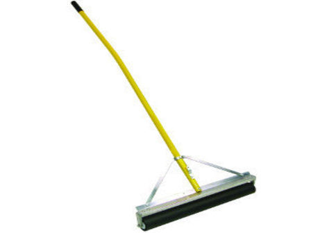 "24"" Non-Absorbent Roller Squeegee, 60"" Ergonomic Yellow AH-Secialty Rakes-Seymour Midwest-Default-Sealcoating.com"