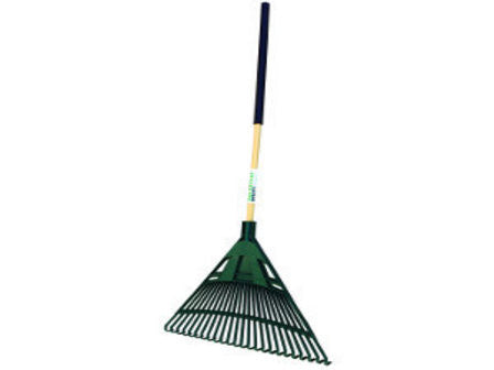 "Northstar Utility 30"" Poly Leaf Rake, 48"" Hardwood Handle-Landscape Hand Tools-Seymour Midwest-Default-Sealcoating.com"