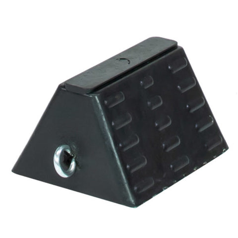 Rubber Pyramid Wheel Chock for Trailers