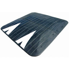 Rubber Speed Cushion for Traffic Calming side view