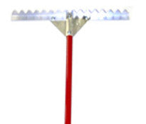 "Serrated Asphalt Lute Blade-Asphalt Paving Tools-Slip Industries, Inc-24"" (2.5 FT) Blade-Sealcoating.com"