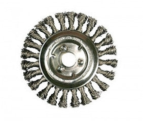 "Wire Wheel 8"" Full Cable Twist-Crack Sealing Tools-The Brewer Company-Default-Sealcoating.com"