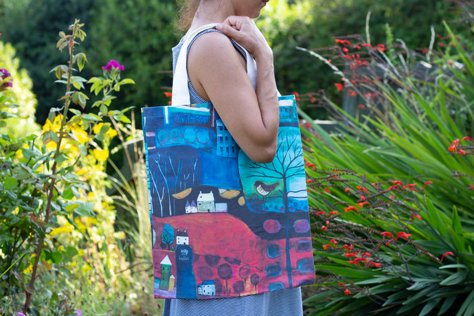 Far & Away Tote Bag