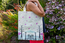 Load image into Gallery viewer, Cotton Tote Bag in Neutral Colours
