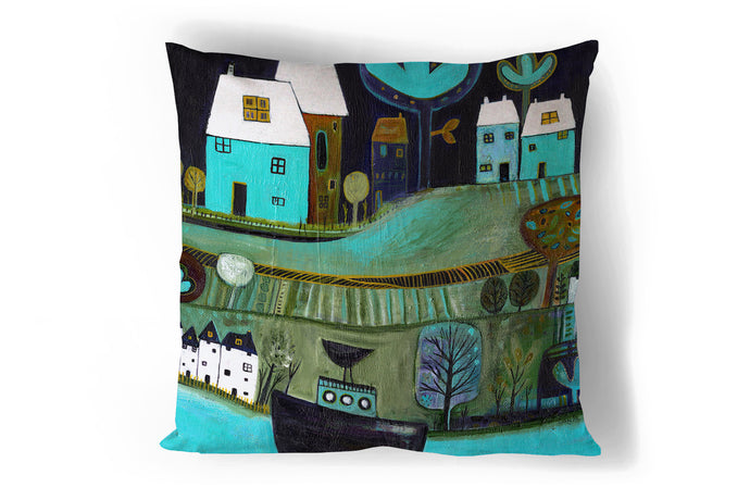 'River Trip' Cushion Cover