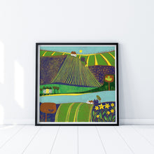 Load image into Gallery viewer, 'Fields Along the River'