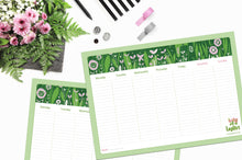 Load image into Gallery viewer, Spring Weekly Planner Pad