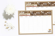 Load image into Gallery viewer, Autumn Weekly Planner Pad