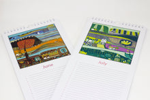 Load image into Gallery viewer, Slim Birthday Calendar - Linocut Prints