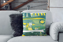 Load image into Gallery viewer, 'Green Valley' Cushion Cover