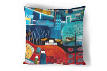 Load image into Gallery viewer, 'Far & Away' Cushion Cover