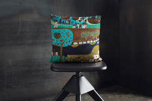 Load image into Gallery viewer, 'In the Time of Blossoms' Cushion Cover