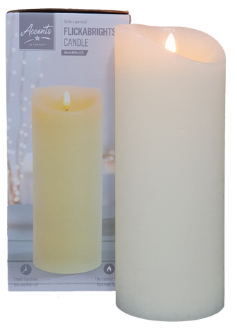 Flickabrights LED Flickering Effect Candle - 23cm