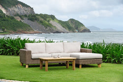 Bahamas Right Hand Chaise Lounge Set by Lifestyle Garden