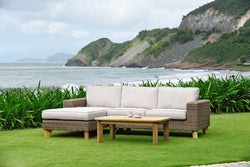 Bahamas Left Hand Chaise Lounge Set by Lifestyle Garden