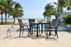 Panama 4 Seat Dining Set by Lifestyle Garden