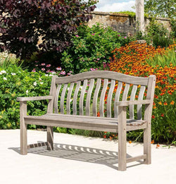 Old England Grey Painted Turnberry Bench 5ft Alexander Rose