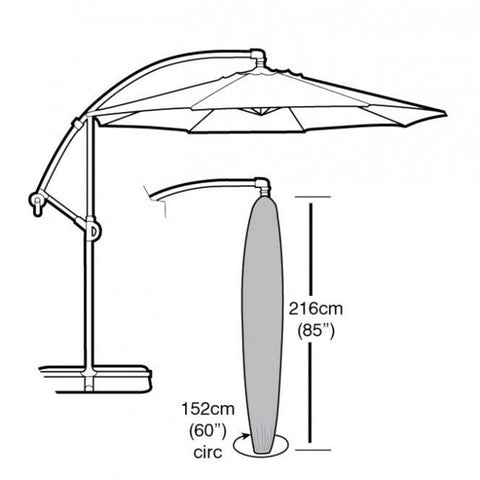 Garland Deluxe Cantilever Parasol Cover W1456