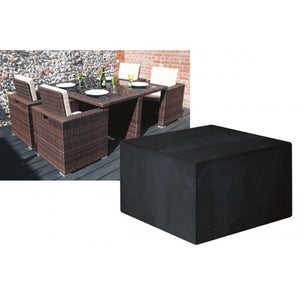 Deluxe Large Cube Set Garden Furniture Set Cover (W1638)