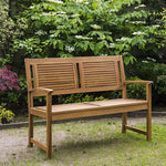 Alexander Rose 4ft Acacia Hardwood Lakeside Bench