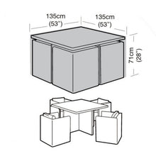 Load image into Gallery viewer, Garland Deluxe Large Cube Set Garden Furniture Set Cover (W1638)