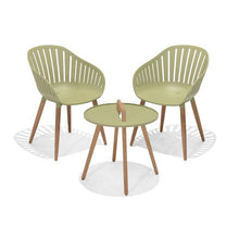 Load image into Gallery viewer, Nassau 2 Seater Round Coffee Set - Lime