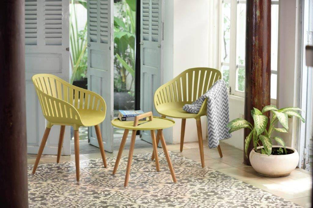Nassau 2 Seater Round Coffee Set by Lifestyle Garden