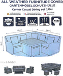 Deluxe Medium Corner Casual Dining Set Cover