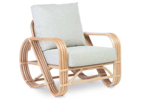 Pretzel Arm Chair by Desser