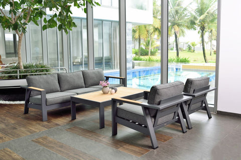 Palau 5 Seater Sofa Set by Lifestyle Garden