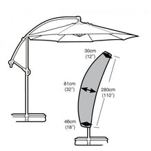 Load image into Gallery viewer, Garland Deluxe Sail Parasol Garden Furniture Set Cover (W1460)