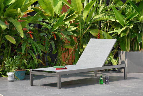 Solana Stacking Wheel Lounger by Lifestyle Garden