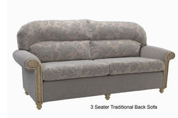 Stamford 3 Seater Sofa by Desser