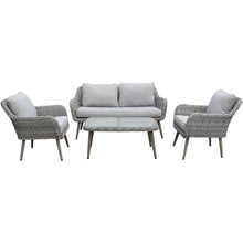 Load image into Gallery viewer, Stockholm Rattan Weave Sofa Set by Hills Leisure