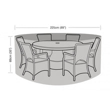 Load image into Gallery viewer, Garland 6 Seat Round Dining Garden Furniture Set Cover (W1198)