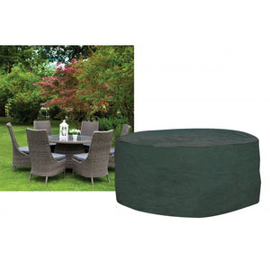 6 Seat Round Dining Garden Furniture Set Cover (W1198)