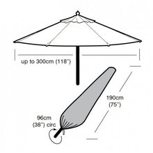 Load image into Gallery viewer, Garland Deluxe Large Parasol Cover (W1448)