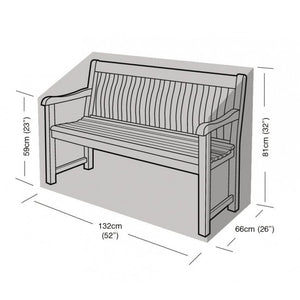 2 Seater Bench Garden Furniture Cover (W1264)