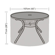 Load image into Gallery viewer, Garland Deluxe 4 Seat Round Table Garden Furniture Cover (W1360)