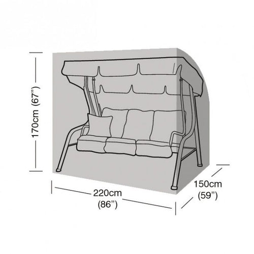 Garland Deluxe 3 Seater Swing Seat Cover W1432