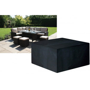 Deluxe Large Casual Dining Garden Furniture Set Cover (W1641)