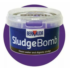Sludge Bomb Pond Treatment by Bermuda