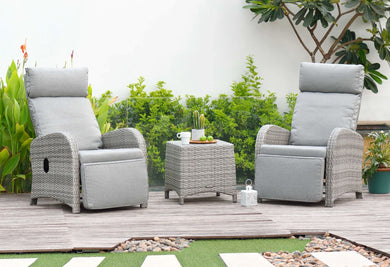 Aruba Duo Recliner Set by Lifestyle Garden